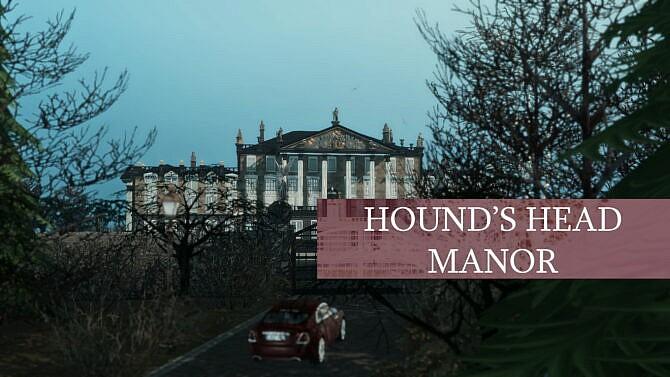 Hound's Head Manor (unfurnished, No Cc) By Pinkcherub