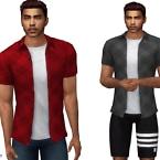 Casual Plaid Shirt By Cherryberrysim