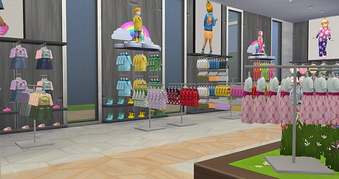 Sims 4 Etie Baby Store at La Boutique de Jean