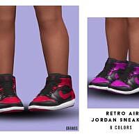 Retro Air Jordan Sneakers (toddler) By Oranostr