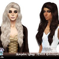 Wings To0128 Hair Retexture