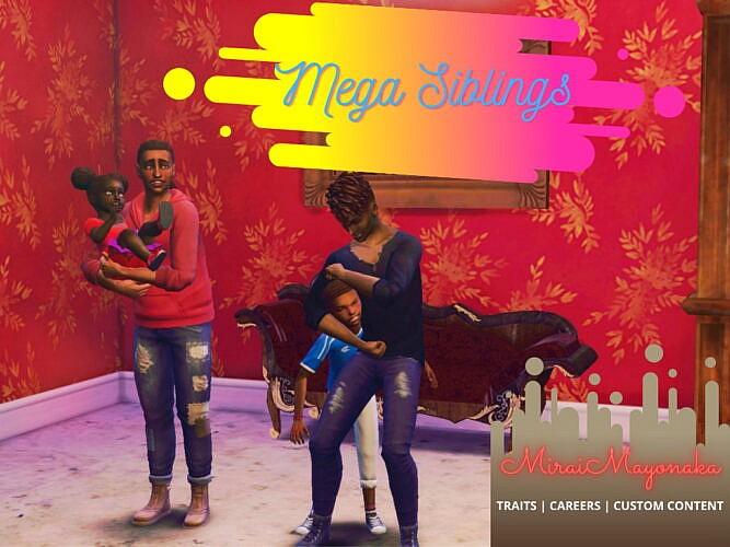 Mega Siblings By Miraimayonaka