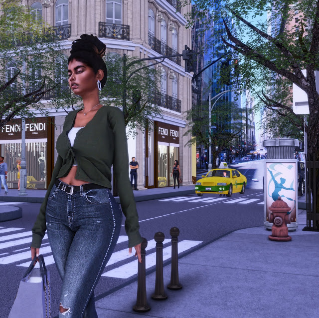 Sims 4 Milano Fashion Center (P) at Lily Sims
