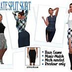 Sentate's Split Skirt