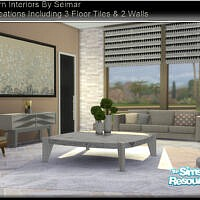 Modern Interiors Living Set By Seimar8