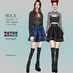 Boca Mini Skirt By Helsoseira