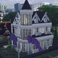 Milk White Victorian House By Genkaiharetsu