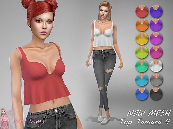 Top Tamara 4 By Jaru Sims