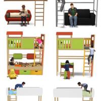 Bunk & Loft Beds By Sandy