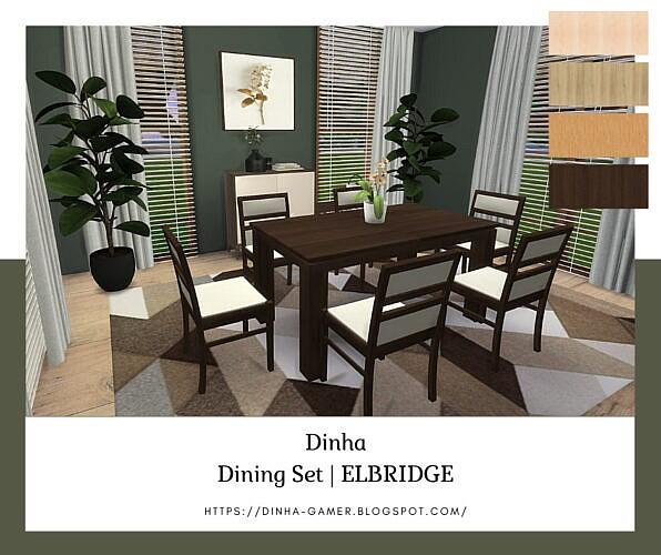 Dining Set Elbridge (p)