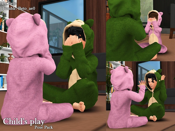 Child's Play (pose Pack) By Beto_ae0