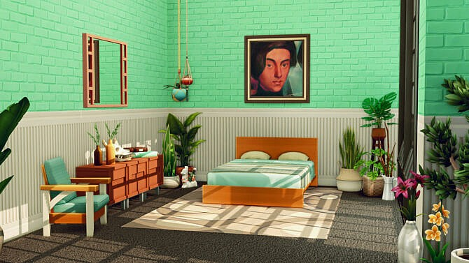 Sims 4 ORNATE BRICK WALL SET at Picture Amoebae