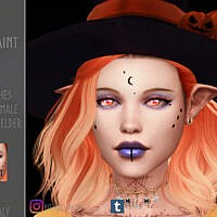 Half Moon Facepaint V1 By Reevaly