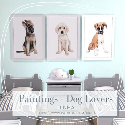 Painting Dog Lovers Free