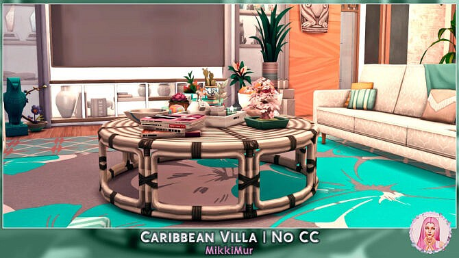 Sims 4 Caribbean Villa at MikkiMur