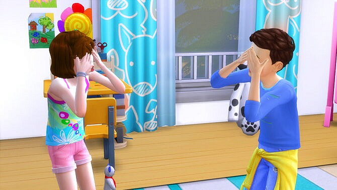 Sims 4 Play Peakaboo for all Ages by Sofmc9 at Mod The Sims 4