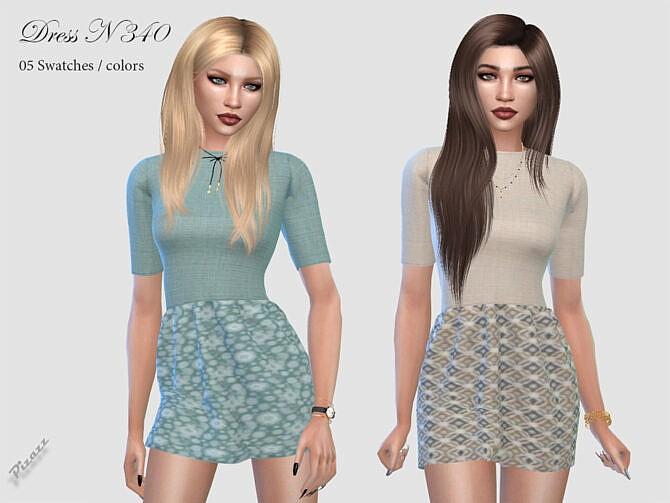 Sims 4 DRESS N 340 by pizazz at TSR