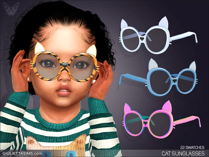 Cat Sunglasses For Toddlers