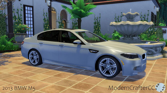 Sims 4 2013 BMW M5 at Modern Crafter CC