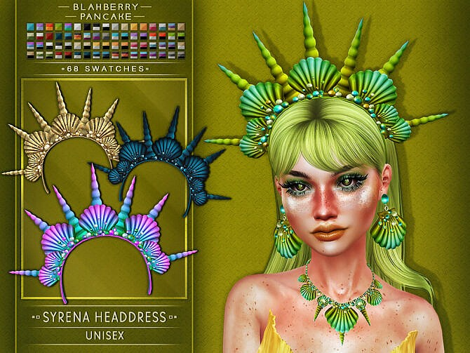 Sims 4 Syrena Jewelry Set at Blahberry Pancake