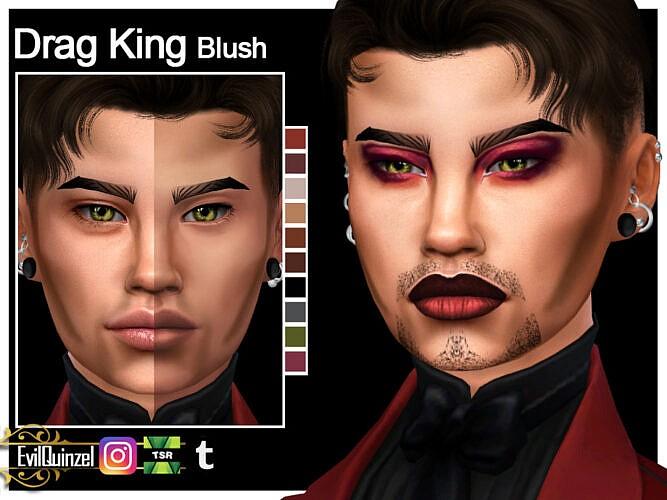 Drag King Blush By Evilquinzel