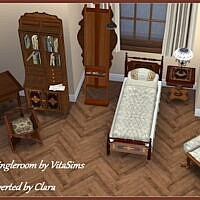 Conversion Of Vitasims Victorian Single Room By Clara