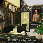 Art Deco Master Bedroom By Dasie2