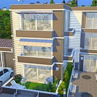 Modern 3 Flat Apartment House By Flubs79