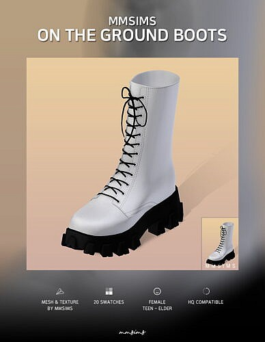 On The Ground Boots