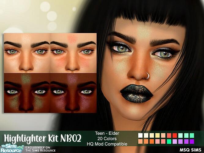 Highlighter Kit Nb02