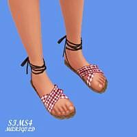 Frill Sandal 3x