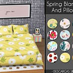Spring Blankets And Pillows