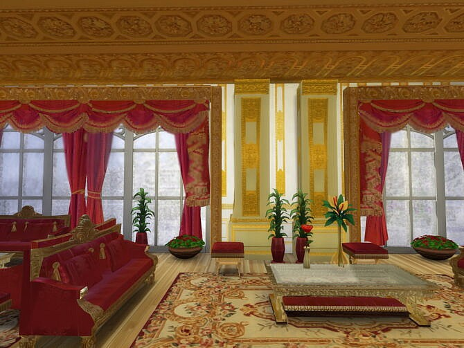 Sims 4 Windsor Castle Set at Anna Quinn Stories