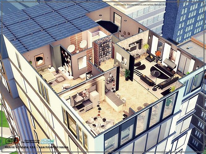 Hakim's Estate 122 Apartments By Danuta720