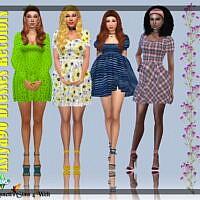 Astya96 Dresses Recolors