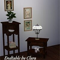 Endtable By Clara