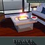 Modern Glass Fire Pit By Tyravb