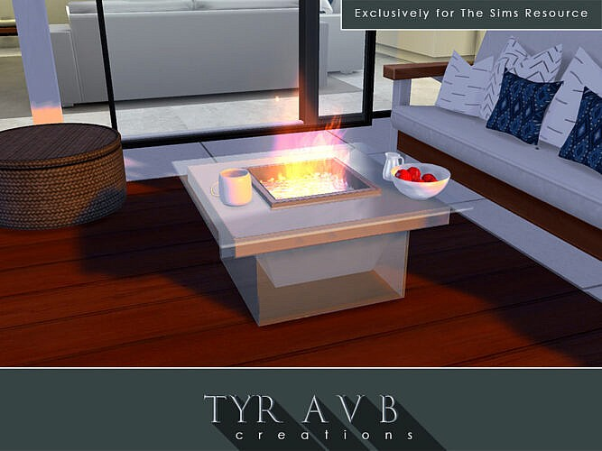 Modern Glass Fire Pit By Tyravb