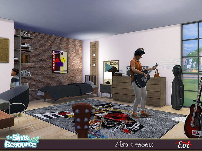 Alan's Room By Evi