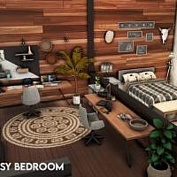 Artsy Bedroom By Xogerardine
