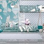 Blue Stars Kids Room By Moniamay72