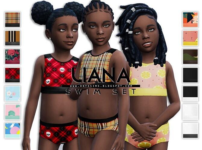 Liana Swimsuit Set
