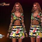 Tutti Frutti Dress By Jomsims
