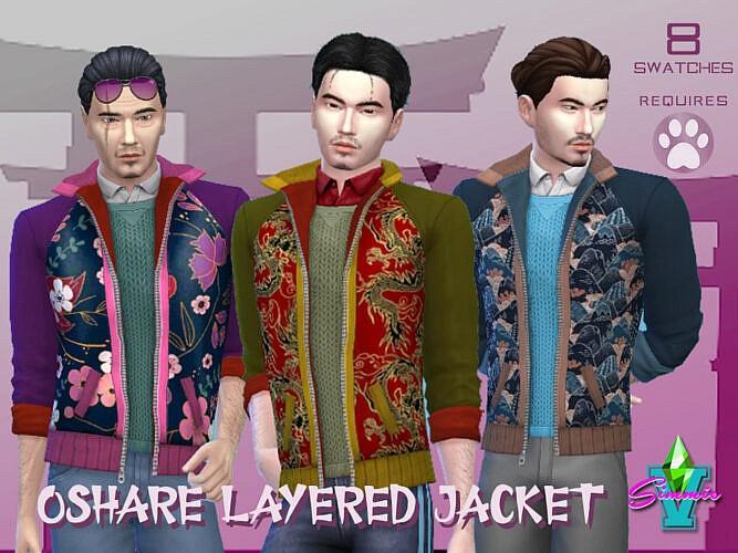 Oshare Layered Jacket By Simmiev