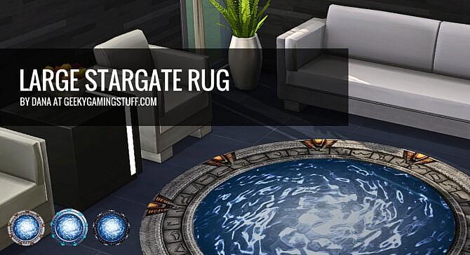 Large Stargate Rug