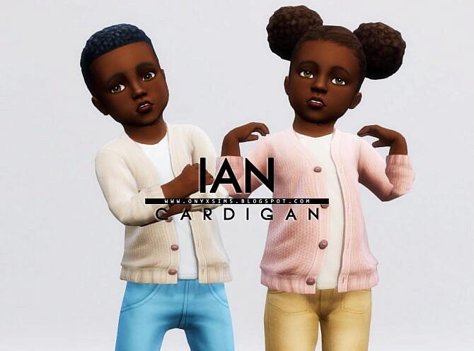 Sims 4 Ian Cardigan at Onyx Sims