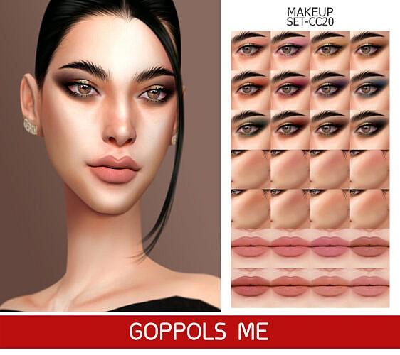 Gpme-gold Makeup Set Cc20