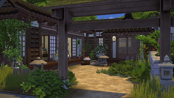 Japanese Rural House