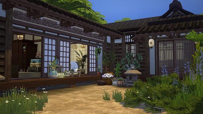 Sims 4 Japanese Rural House at Akai Sims – kaibellvert