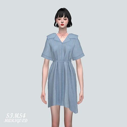 Shirts Mini Dress P0